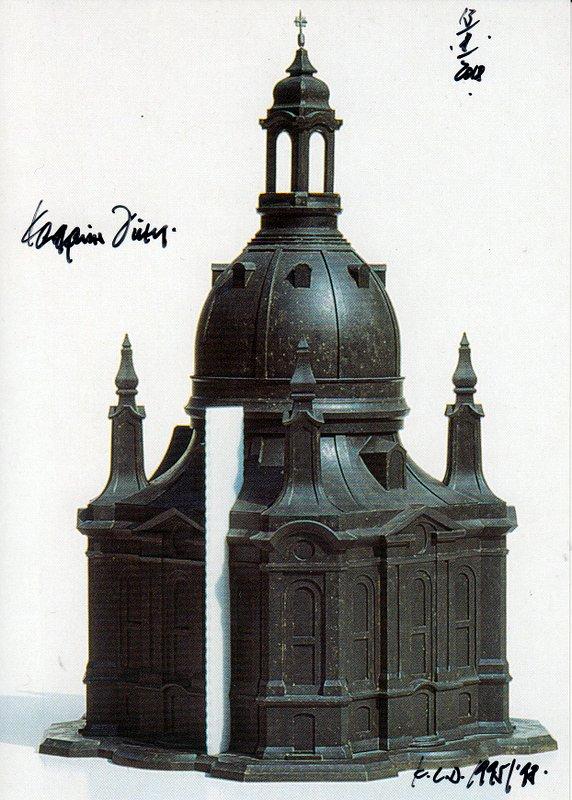Treu Schwarz Weiss Foto Inneres Der Kirche In Altlemberg 1978 B3962 Autogramme & Autographen